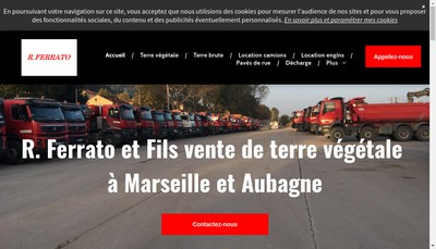 Site internet de C Ferrato