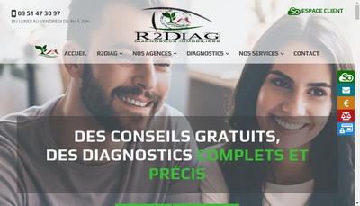 Site internet de R2Diag