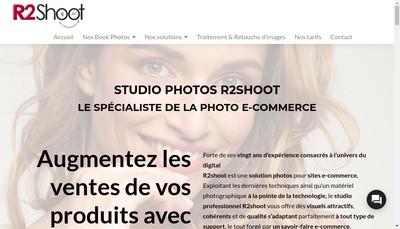 Site internet de R2Shoot