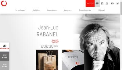 Site internet de L'Atelier de Jean-Luc Rabanel