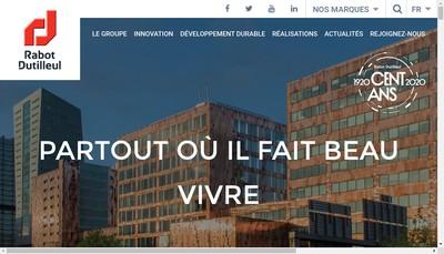Site internet de Rabot Dutilleul Construction