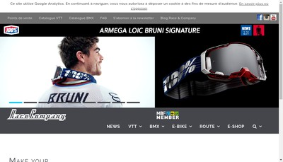 Site internet de Race Company