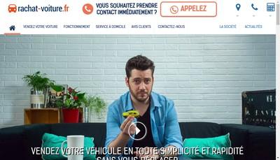 Site internet de Rachat-Voiture Fr