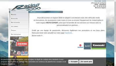 Site internet de Racing 2000