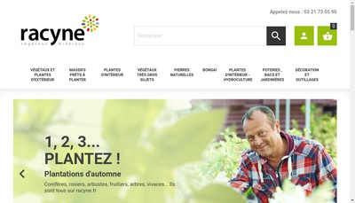 Site internet de Racyne