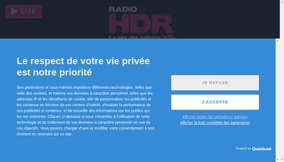 Site internet de Association Radio Hdr