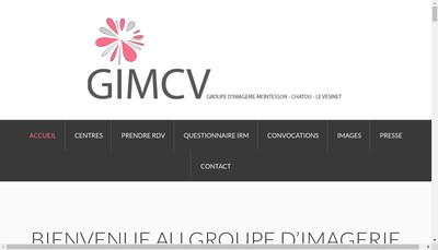 Site internet de SCM Centre Imagerie Medicale Henri Cloppet