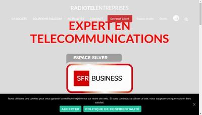 Site internet de Radiotel