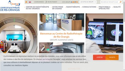 Site internet de Centre d'Oncologie