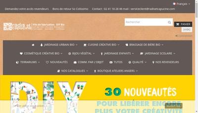 Site internet de Promoseeds Interprint Radis et Capucine