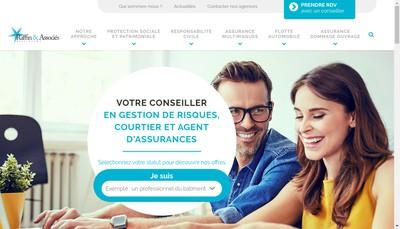 Site internet de Raffin & Associes Assurances