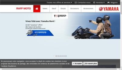 Site internet de Raff Moto