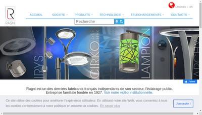 Site internet de Ragni