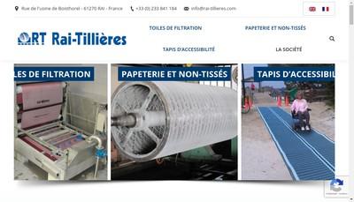 Site internet de Rai Tillieres