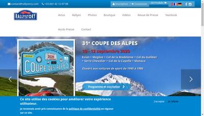 Site internet de Rally Story