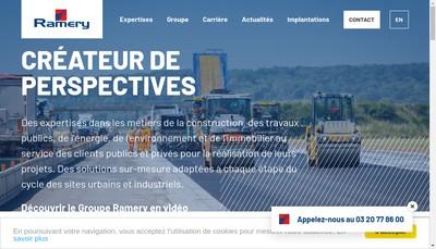 Site internet de Coexia Amenagement Interieur