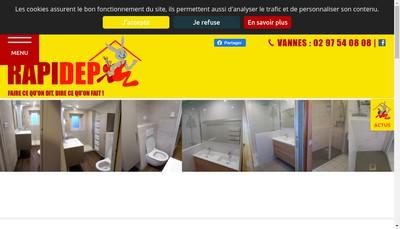 Site internet de Rapidep