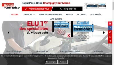 Site internet de Autolook Rapid Pare-Brise