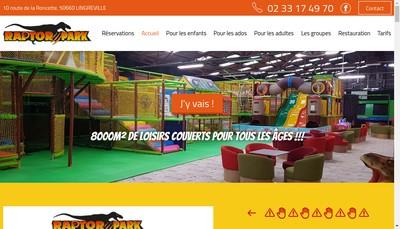 Site internet de Raptor Park