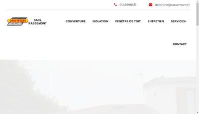 Site internet de SARL Rassemont