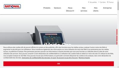 Site internet de Rational Wittenheim SAS