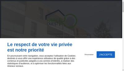 Site internet de SARL Raval'Ouest