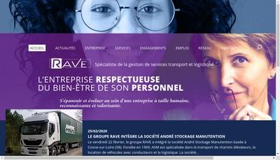 Site internet de Rave Provence