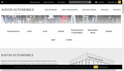 Site internet de Desire Centre Occasions