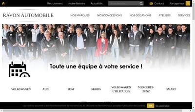 Site internet de Garage Jacques Ravon
