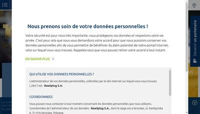 Site internet de Rawlplug France