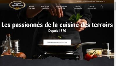 Site internet de Raynal et Roquelaure