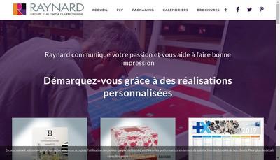 Site internet de Raynard Plv