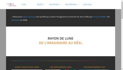 Site internet de Rayon de Lune