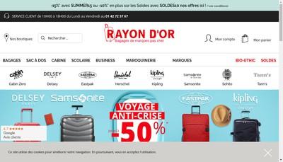 Site internet de Rayon d'Or