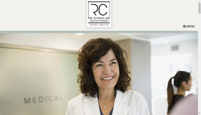 Site internet de Rc Human Recruitment