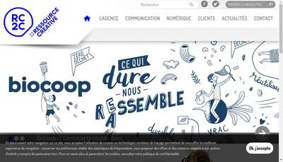Site internet de Rc2C