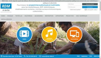 Site internet de RDM