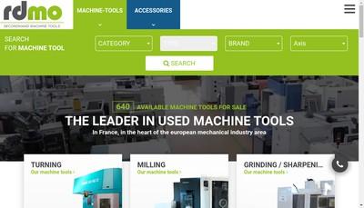 Site internet de Rd Machines Outils