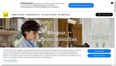 Site internet de Re Travaux Publics