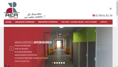 Site internet de Rea Services