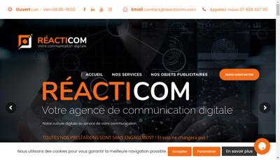 Site internet de Reacticom
