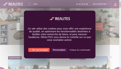 Site internet de Realites