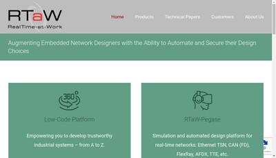 Site internet de Realtime-At-Work