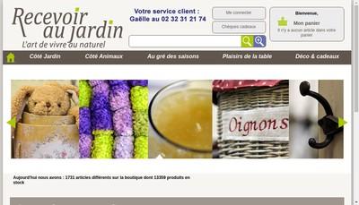 Site internet de Jardinerie Favennec