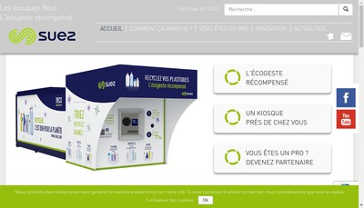 Site internet de Reco France