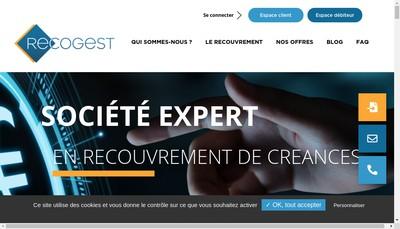 Site internet de Recogest