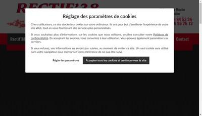Site internet de Rectif'38