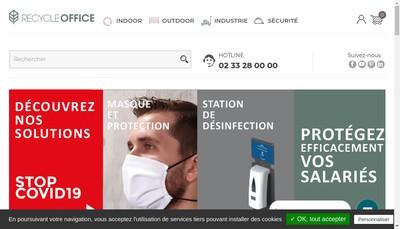 Site internet de Recycleoffice