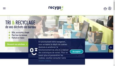 Site internet de Recygo