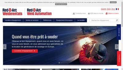 Site internet de Red-D-Arc (Fr) SAS